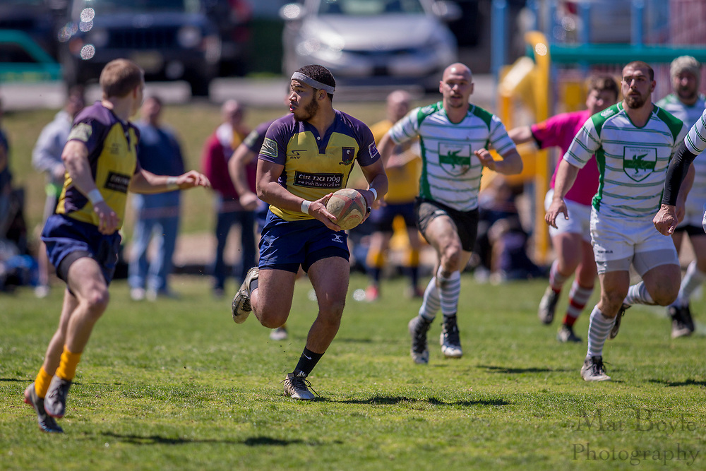 South Jersey Men's Rugby vs Media in Media, PA on Saturday April 8, 2017. (photo / Mat Boyle)