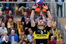 26-10-2019 NED: Talentteam Papendal - Draisma Dynamo, Ede<br /> Round 4 of Eredivisie volleyball -