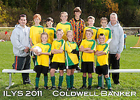 Inter Lakes Youth Soccer League Coldwell Banker Team October 15, 2011.