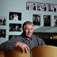 "Filmmaker Peter Braatz produced a documentary titled ""No Frank in Lumberton"" about the making of ""Blue Velvet."" Braatz had been invited by director David Lynch to come to Wilmington to document the filming process. Braatz also took nearly 1,000 black-and-white images of the filming. Photo by Mike Spencer"