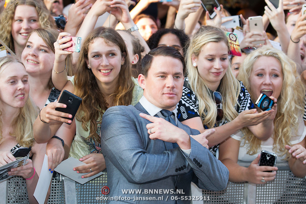 NLD/Amsterdam/20150701- Film premiere Magic Mike XXL,Channing Tatum