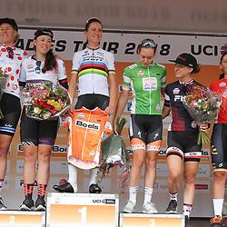 28-08-2018: Wielrennen: Ladies Tour: Arnhem<br />de truien na de eerste etappe