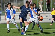 08.04.17; Zuerich; Fussball FCZ Academy - Grasshopper Club - Zuerich FE14 Oberland; <br /> 5 , 8 <br /> (Andy Mueller/freshfocus)