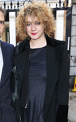Emily Lloyd the daughter of Only Fools and Horses actor  Roger Lloyd-Pack who played Trigger in the TV show, arriving for his funeral at St.Paul's Church in  London, Thursday, 13th February 2014. Picture by Stephen Lock / i-Images