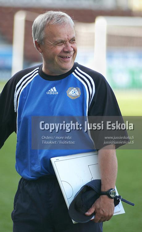 Jyrki Heliskoski.&amp;#xA;U17-maajoukkue 2003.&amp;#xA;Photo: Jussi Eskola<br />