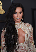 February 12, 2017 , Los Angeles, USA. 59EME GRAMMY AWARDS 2017, Demi Lovato @ the 59th Annual GRAMMY Awards held @ the Microsoft Theatre. <br /> ©Exclusivepix Media