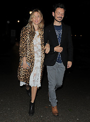 Sienna Miller and Mathew Williamson attend LFW: Mathew Williamson - s/s 2014 catwalk show in London 15/09/2013<br />BYLINE MUST READ : GOTCHAIMAGES.COM<br /><br />Copyright by © Gotcha Images Ltd. All rights reserved.<br />Usage of this image is conditional upon the acceptance <br />of Gotcha Images Ltd, terms and conditions available at<br />www.gotchaimages.com