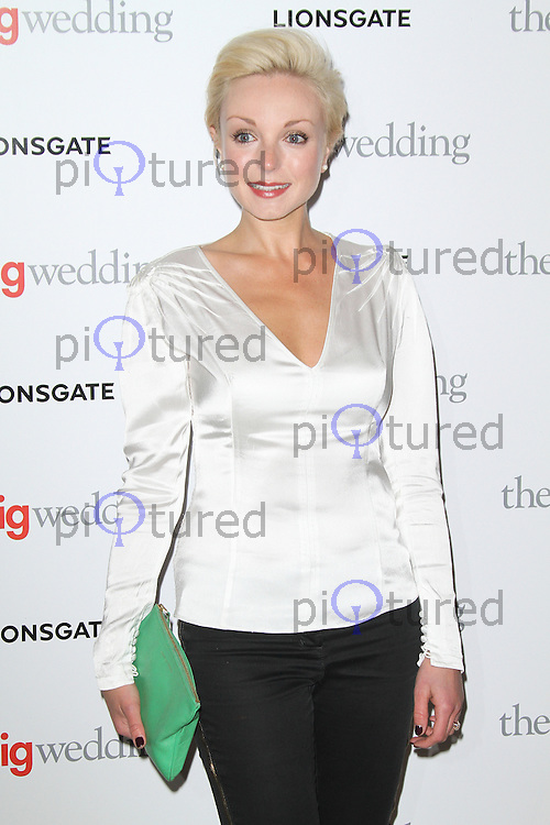 Helen George, The Big Wedding special screening, The May Fair Hotel, London UK, 23 May 2013, (Photo by Richard Goldschmidt)