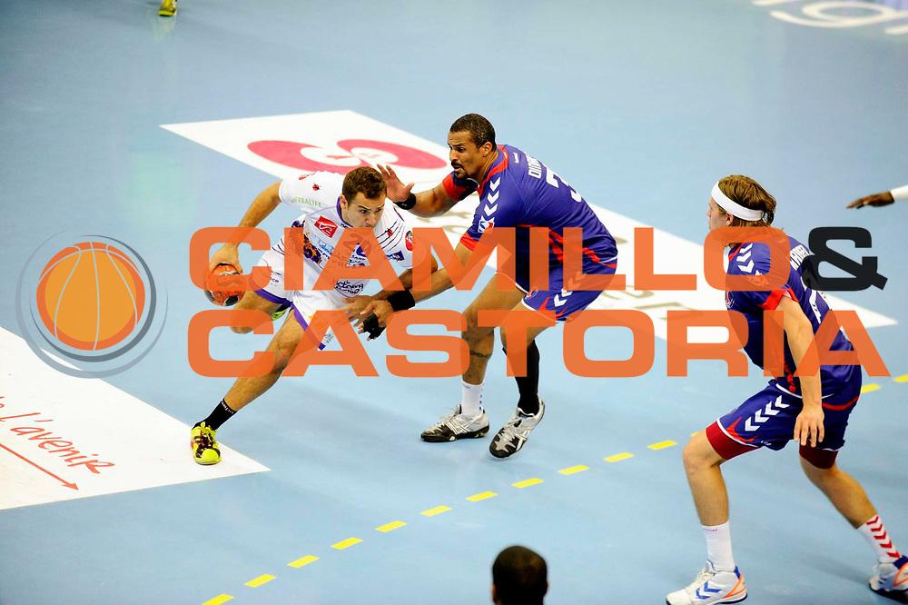 DESCRIZIONE : Handball Tournoi de Cesson Homme<br /> GIOCATORE : FRANCOIS MARIE Jordan DINART Didier<br /> SQUADRA : Selestat<br /> EVENTO : Tournoi de cesson<br /> GARA : Paris Handball Selestat<br /> DATA : 06 09 2012<br /> CATEGORIA : Handball Homme<br /> SPORT : Handball<br /> AUTORE : JF Molliere <br /> Galleria : France Hand 2012-2013 Action<br /> Fotonotizia : Tournoi de Cesson Homme<br /> Predefinita :
