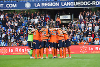 Equipe de Montpellier - 02.05.2015 - Montpellier / Rennes - 35eme journee de Ligue 1<br />