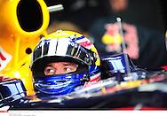 Grand prix de Bahraïn 2010..Circuit de shakir. 12 mars 2010..Premiere séance d'essai...Photo Stéphane Mantey/ L'Equipe. *** Local Caption *** webber (mark) - (aus) -