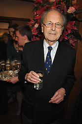 The 7th LORD ROSSMORE at a reception to launch the Knight of Glin's book 'Irish Furniture' and Harry Erne's book 'Freddy Lond Ears' held at Christie's, 8 King Street, London SW1 on 3rd May 2007.<br />