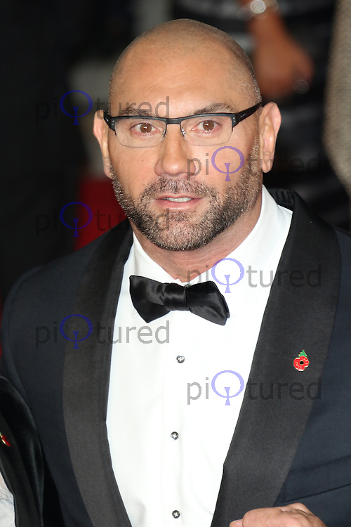 Dave Bautista, Bond: Spectre - World Premiere & Royal Film Performance, Royal Albert Hall, London UK, 26 October 2015, Photo by Richard Goldschmidt