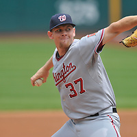 6.13.2010 Washington Nationals rookie pitcher Stephen Strasburg