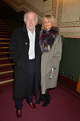 DAVID & KAREN RICHARDS he is the chairman of Prodrive and chairman of Aston Martin at the Cirque Du Soleil's VIP performance of Kooza at The Royal Albert Hall, London on 6th January 2015.
