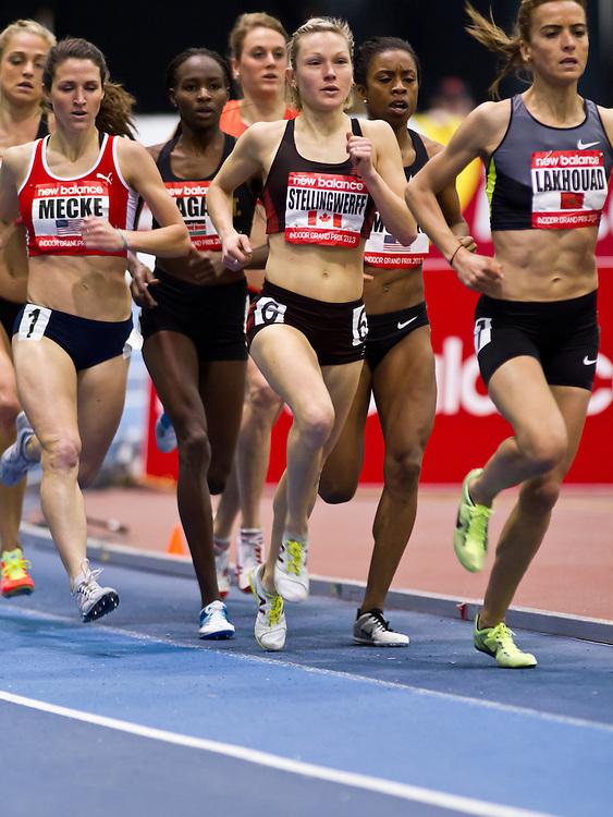 New Balance Indoor Grand Prix track meet: Women's Mile, Stellingwerff, CAN