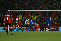 Football - 2016 / 2017 Premier League - AFC Bournemouth vs. Leicester City<br /> <br /> Bournemouth's Marc Pugh fires through a crowd to open the scoring at Dean Court (The Vitality Stadium) Bournemouth<br /> <br /> COLORSPORT/SHAUN BOGGUST