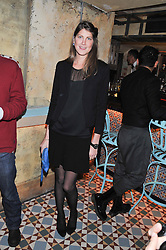PRINCESS FLORENCE VON PREUSSEN at the launch party for the new nightclub Tonteria, 7-12 Sloane Square, London on 25th October 2012.