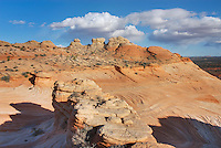 Red buttes and slickrock, Vermilion Cliffs Wilderness Utah