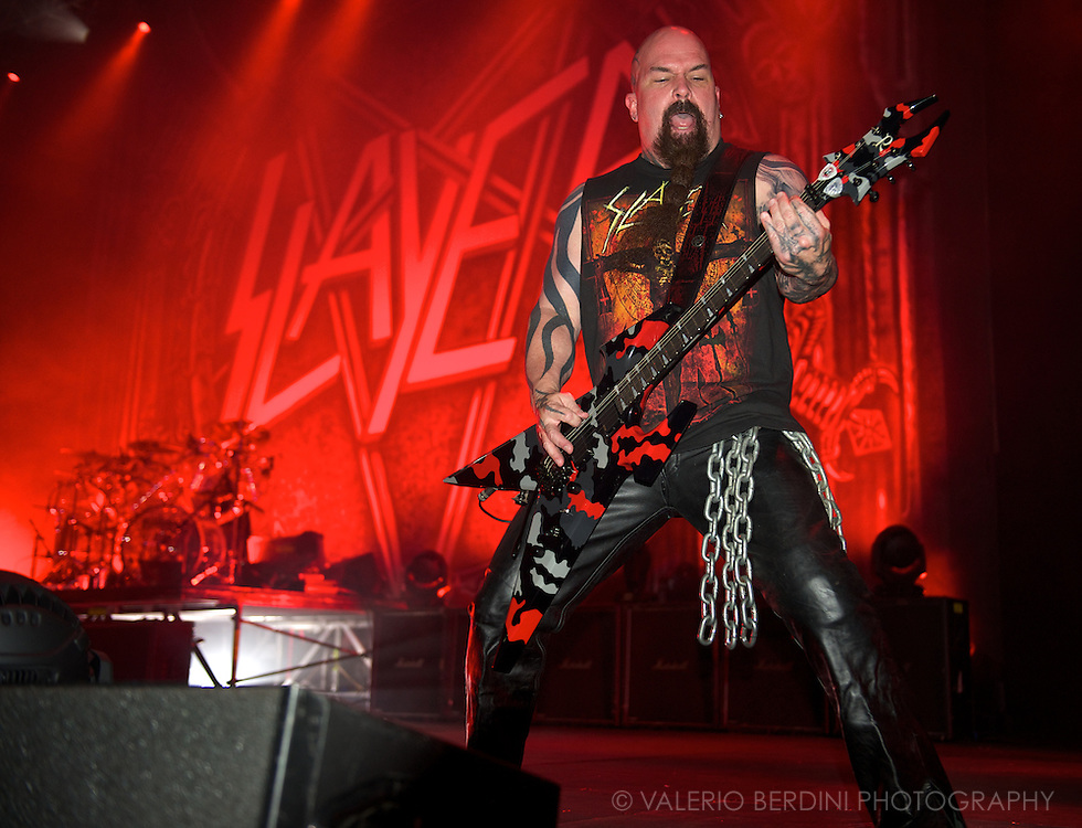 Kerry King of Slayer at ATP I'll Be Your Mirror Day 1<br /> Alexandra Palace, London 25 May 2012