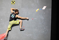 Jan Hojer of Germany during Man's bouldering semifinal at the IFSC Climbing World Championships Innsbruck 2018, on September 15, 2018 in OlympiaWorld Innsbruck, Austria, Slovenia. Photo by Urban Urbanc / Sportida