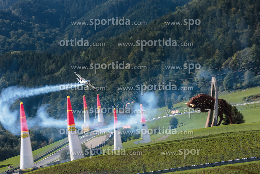 06.09.2015, Red Bull Ring, Spielberg, AUT, Red Bull Air Race, Spielberg, Rennen, im Bild Martin Sonka (CZE) // Martin Sonka of Czech Republic during the race of Red Bull Air Race Championships 2015 at the Red Bull Ring in Spielberg, Austria on 2015/09/06. EXPA Pictures © 2015, PhotoCredit: EXPA/ JFK