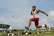 University of Arkansas Razorback Track and Field Team action photography during the 2001-2002 season.