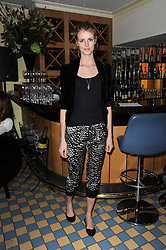 JACQUETTA WHEELER at a cabaret evening at Bellamy's, Bruton Place, London on 22nd March 2010.