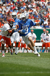 2013 May 27: Deemer Class #10 of the Duke Blue Devils during a 16-10 win over the Syracuse Orange to win the NCAA national championship at Lincoln Financial Field in Philadelphia, PA.