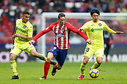 Atletico Madrid's Spanish forward Fernando Torres runs with the ball during the Spanish Championship Liga football match between Atletico Madrid and Getafe on January 6, 2018 at the Wanda Metropolitano stadium in Madrid, Spain - Photo Benjamin Cremel / ProSportsImages / DPPI