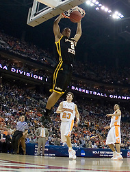 Long Beach State 49ers guard Louis Darby (2) dunks against Tennessee.  The #5 seed Tennessee Volunteers defeated the #12 seed Long Beach State 49ers 121-86  in the first round of the Men's NCAA Tournament in Columbus, OH on March 16, 2007.