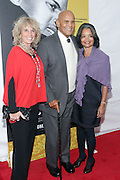 "October 6 New York, NY-  l to r: Pamela Belafonte( wife), Actor/Civil Rights Activist Harry Belafonte and Jonelle Procope, president & CEO, Apollo Theater Foundation at the HBO Premiere of "" Sing Your Song"" chronicling the life & iconic career of legendary entertainer & civil rights hero Harry Belafonte held at the Apollo Theater on October 6, 2011 in Harlem, New York City. Photo Credit: Terrence Jennings"