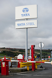 © Licensed to London News Pictures. 23/11/2012. Carlin How, Teesside, England. Steel giant Tata is cutting 900 jobs and closing 12 sites under plans to improve competitiveness FILE PHOTO: The Tata steel plant at Carlin How, Teesside...Photo credit : Ian Forsyth/LNP
