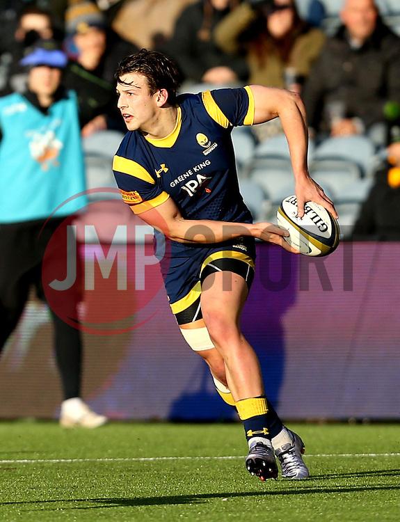 Ryan Mills of Worcester Warriors - Mandatory by-line: Robbie Stephenson/JMP - 28/01/2017 - RUGBY - Sixways Stadium - Worcester, England - Worcester Warriors v Harlequins - Anglo Welsh Cup