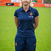 NLD/Velsen/20130701 - Selectie Nederlands Dames voetbal Elftal, doktor Janet Frederiks