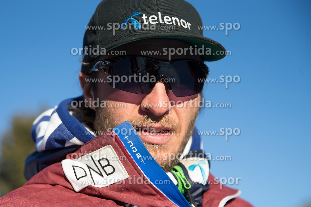26.12.2015, Deborah Compagnoni Rennstrecke, Santa Caterina, ITA, FIS Ski Weltcup, Santa Caterina, Abfahrt, Herren, 1. Training, Streckenbesichtigung, im Bild Christian Mitter (Herren Cheftrainer Norwegen ) // Norwegian men's head coach Christian Mitter during the course inspection of 1st practice run of men's Downhill of the Santa Caterina FIS Ski Alpine World Cup at the Deborah Compagnoni Course in Santa Caterina, Italy on 2015/12/26. EXPA Pictures © 2015, PhotoCredit: EXPA/ Johann Groder