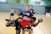 DESCRIZIONE : France Hand Homme Nationale 1 a Chartres <br /> GIOCATORE : BOUBALA YEMBI Ferly<br /> SQUADRA : Chartres<br /> EVENTO : FRANCE Nationale 1 Chartres Cherbourg 2010-2011<br /> GARA : Chartres Cherbourg<br /> DATA : 20/11/2010<br /> CATEGORIA : Hand  Homme Nationale 1<br /> SPORT : Handball<br /> AUTORE : JF Molliere par Agenzia Ciamillo-Castoria <br /> Galleria : France Hand 2010-2011 Action<br /> Fotonotizia : FRANCE Hand Homme Nationale 1 <br /> Predefinita :