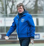 Den Haag - Hoofdklasse hockey dames, HDM-GRONINGEN  (6-2).  Assistent-coach Tom Pijpers (HDM) COPYRIGHT KOEN SUYK