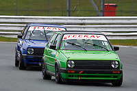 #10 Alistair MILES VW Golf GTi Mk2 during Teekay Couplings Mk2 Production Gti Championship - Race 4  as part of the BRSCC Oulton Park Season Opener at Oulton Park, Little Budworth, Cheshire, United Kingdom. April 09 2016. World Copyright Peter Taylor/PSP. Copy of publication required for printed pictures.  Every used picture is fee-liable. http://archive.petertaylor-photographic.co.uk