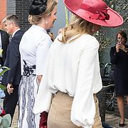 NLD/Terneuzen/20190831 - Start viering 75 jaar vrijheid, Koningin Maxima en Koningin Mathilde