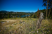 JEROME A. POLLOS/Press..A seven-acre site overlooking Fernan Lake will have homes built on it while another 47 acres connected to the area will be protected by a government entity so it will never be developed.