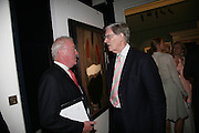 JAMES OSBORNE AND BILL CASH, Spear's Wealth Management High-Net-Worth Awards. Sotheby's. 10 July 2007.  -DO NOT ARCHIVE-© Copyright Photograph by Dafydd Jones. 248 Clapham Rd. London SW9 0PZ. Tel 0207 820 0771. www.dafjones.com.
