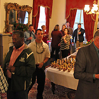 Elected officials and Monroe County Chamber of Commerce board members gathered Dec. 17 for a reception at The Magnolias to celebrate the end of the year.