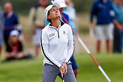 Catrina Mathew looks to the heavens as she narrowly misses her putt during the Ricoh Women's British Open golf tournament at Royal Lytham and St Annes Golf Club, Lytham Saint Annes, United Kingdom on 4 August 2018. Picture by Simon Davies.