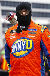 April 8, 2018 - Ft. Worth, Texas, United States of America - April 08, 2018 - Ft. Worth, Texas, USA: A crew member for Ricky Stenhouse, Jr (17) works in the pits during the O'Reilly Auto Parts 500 at Texas Motor Speedway in Ft. Worth, Texas. (Credit Image: © Chris Owens Asp Inc/ASP via ZUMA Wire)