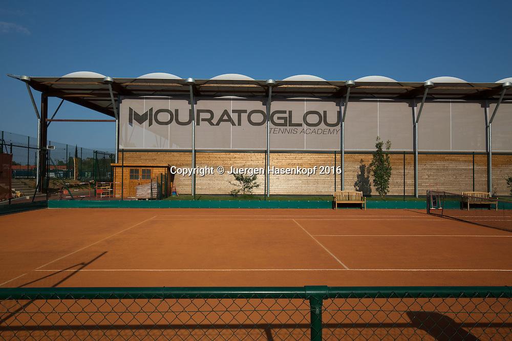Mouratoglou Tennis Academy M.T.A Sophia Country Club, Biot, FRA.<br /> <br />  - Mouratoglou Tennis Academy  -  -   Sophia Country Club, - Biot -  - Frankreich  - 25 July 2016. <br /> &copy; Juergen Hasenkopf