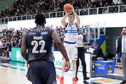 Franko Bushati<br /> Dolomiti Energia Aquila Basket Trento - Germani Basket Brescia Leonessa<br /> Lega Basket Serie A 2016/2017<br /> PalaTrento 23/04//2017<br /> Foto Ciamillo-Castoria / M. Brondi