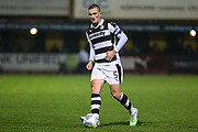 Forest Green Rovers Lee Collins(5) during the EFL Sky Bet League 2 match between Cambridge United and Forest Green Rovers at the Cambs Glass Stadium, Cambridge, England on 26 September 2017. Photo by Shane Healey.