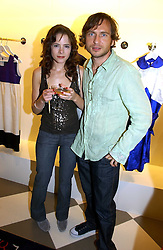 Actress ELAINE CASSIDY and actor STEPHEN LORD at a party to celebrate the opening of PPQ Mayfair at 47 Conduit Street, London W1 on 18th September 2006.<br />