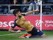 Swansea City v Arsenal 311015